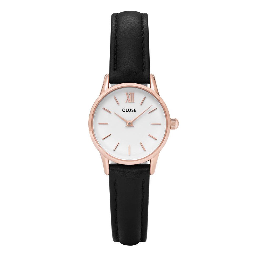 CLUSE CL50008 La Vedette Rose Goldplated White Black horloge
