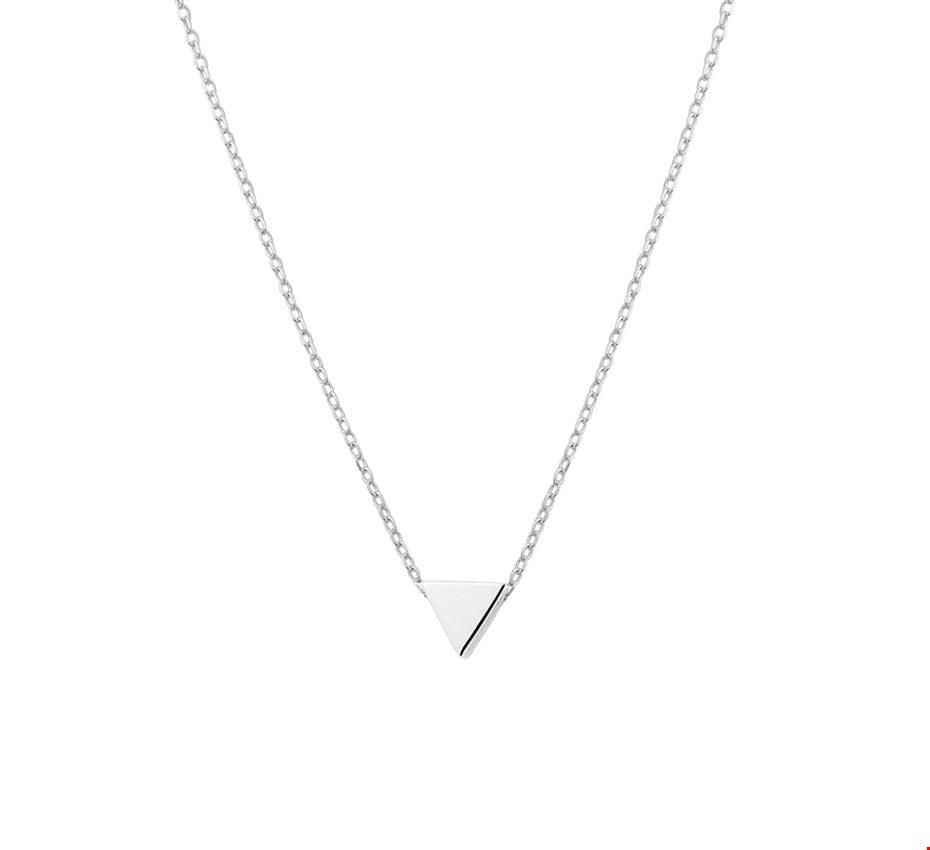 TFT Zilveren Ketting Driehoek 1,1 mm x 41 4 cm