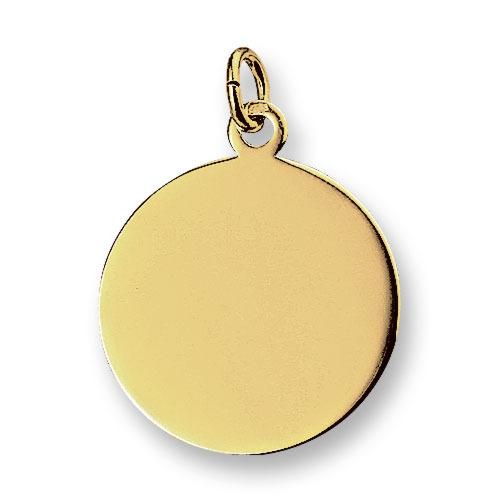 Huiscollectie 4007716 Gouden graveerplaat rond