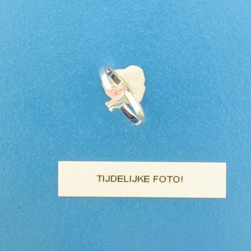 TFT Ring Eenhoorn Zilver Gerhodineerd