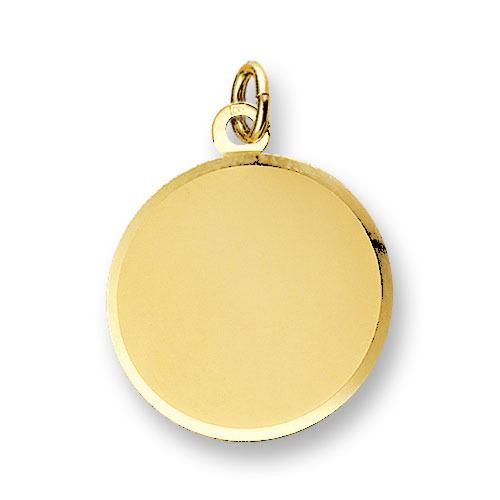 Huiscollectie 4006624 Gouden graveerplaat rond