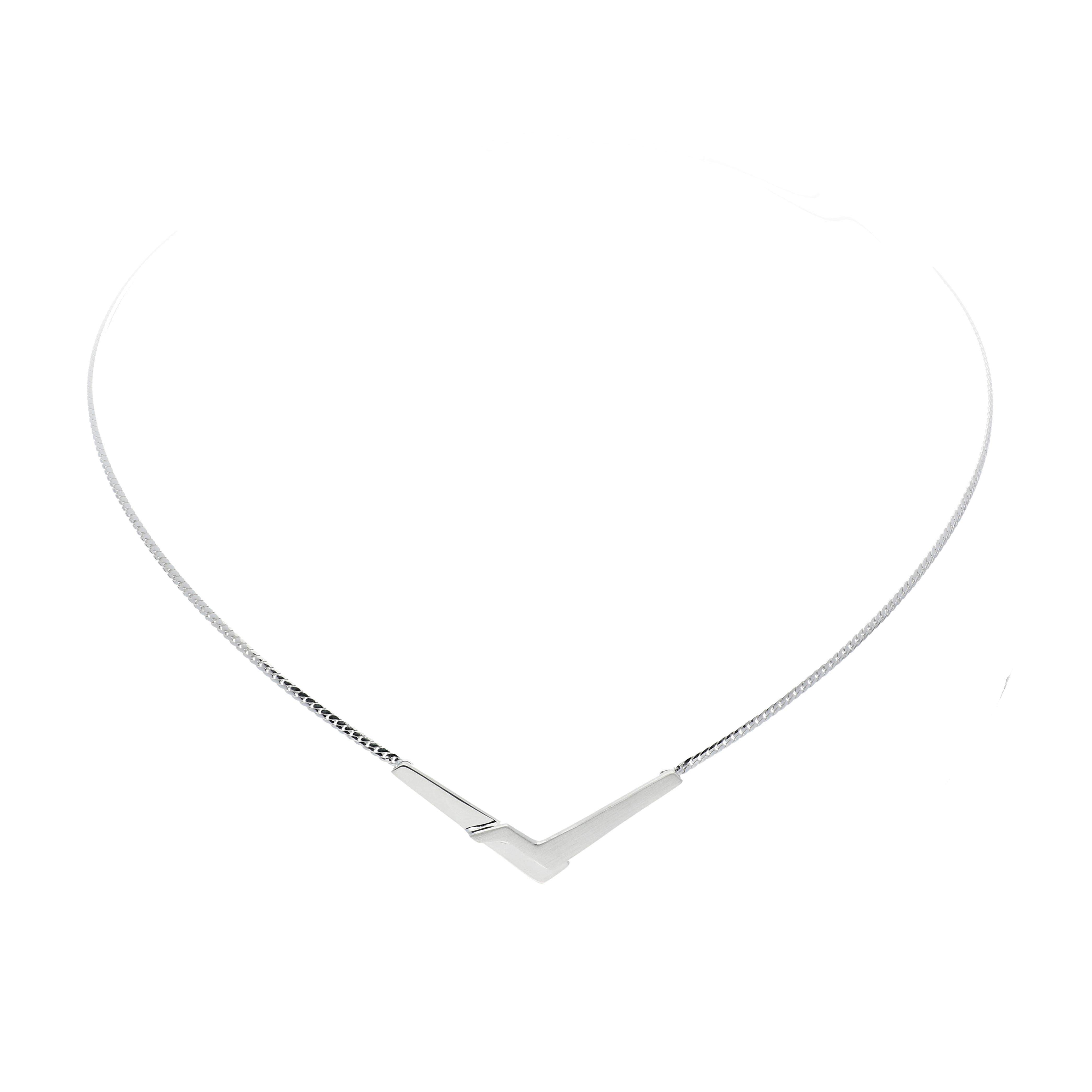 Afbeelding van Best Basics Ketting zilver met tussenstuk 103.0714.45