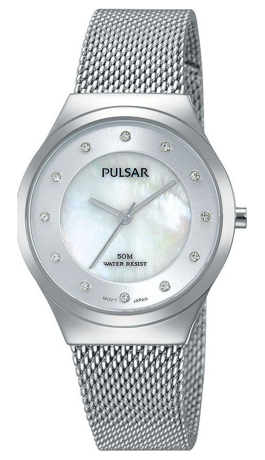 Pulsar PH8131X1 Dameshorloge Milanese band 30 mm