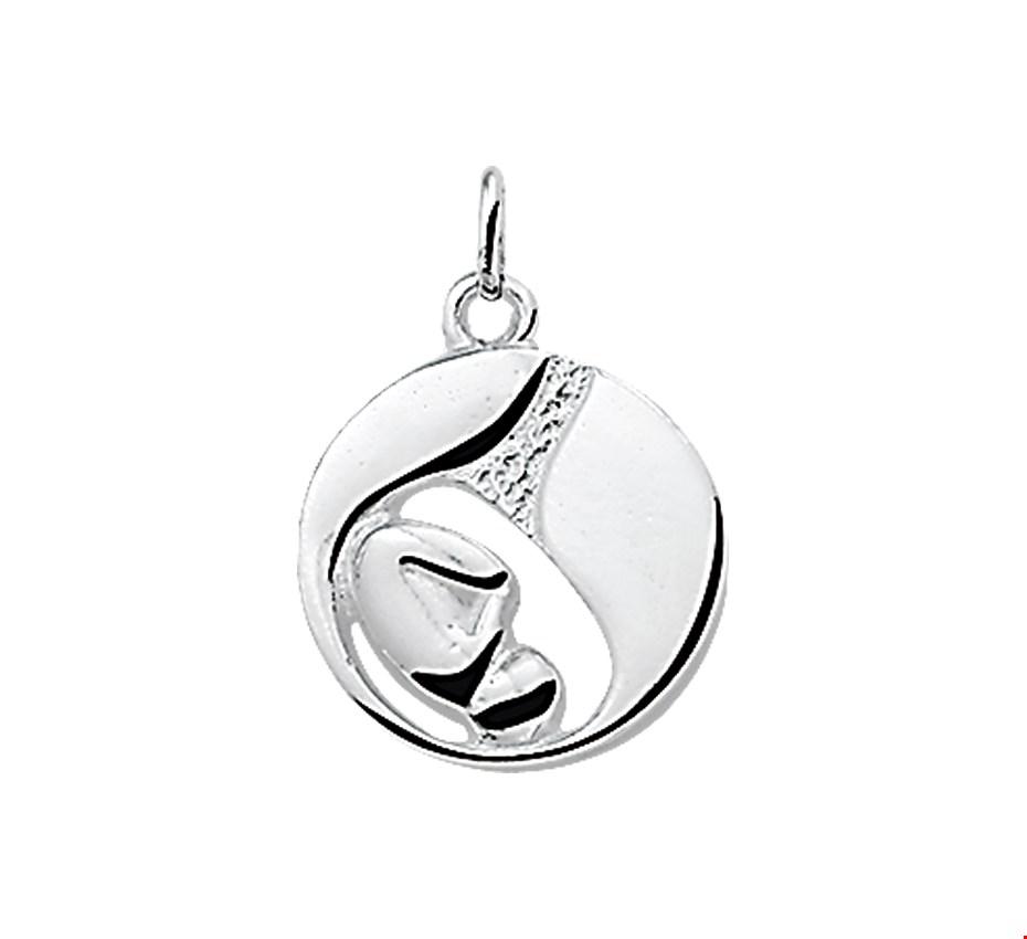 TFT Hanger Zilver Foetus