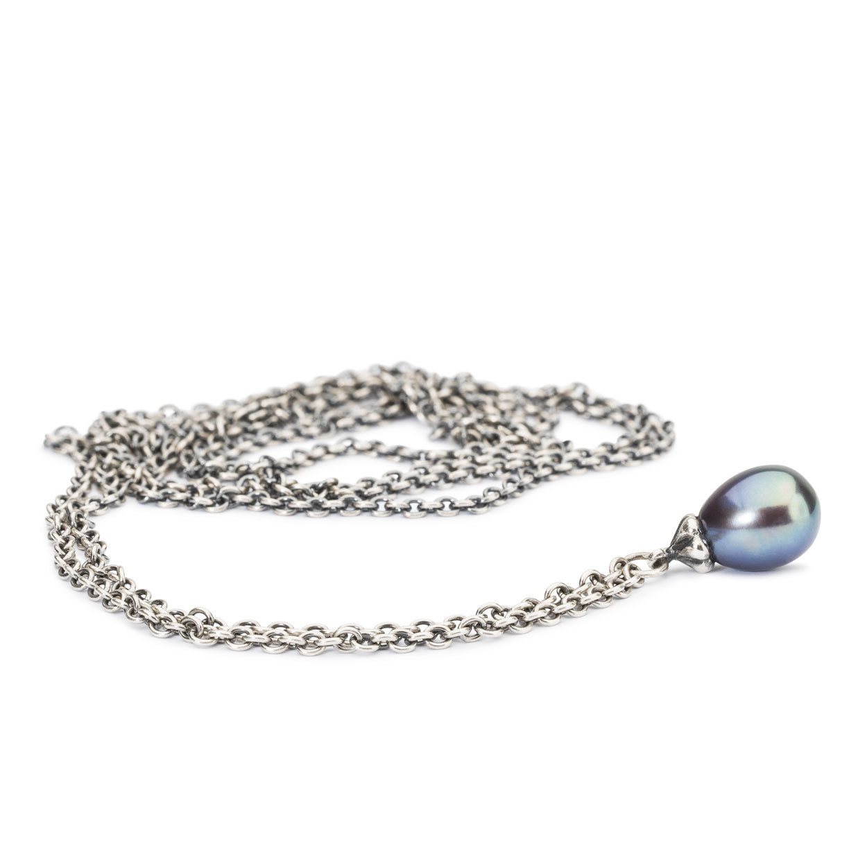 Trollbeads TAGFA-00061 Ketting Peacock Parel zilver 110 cm