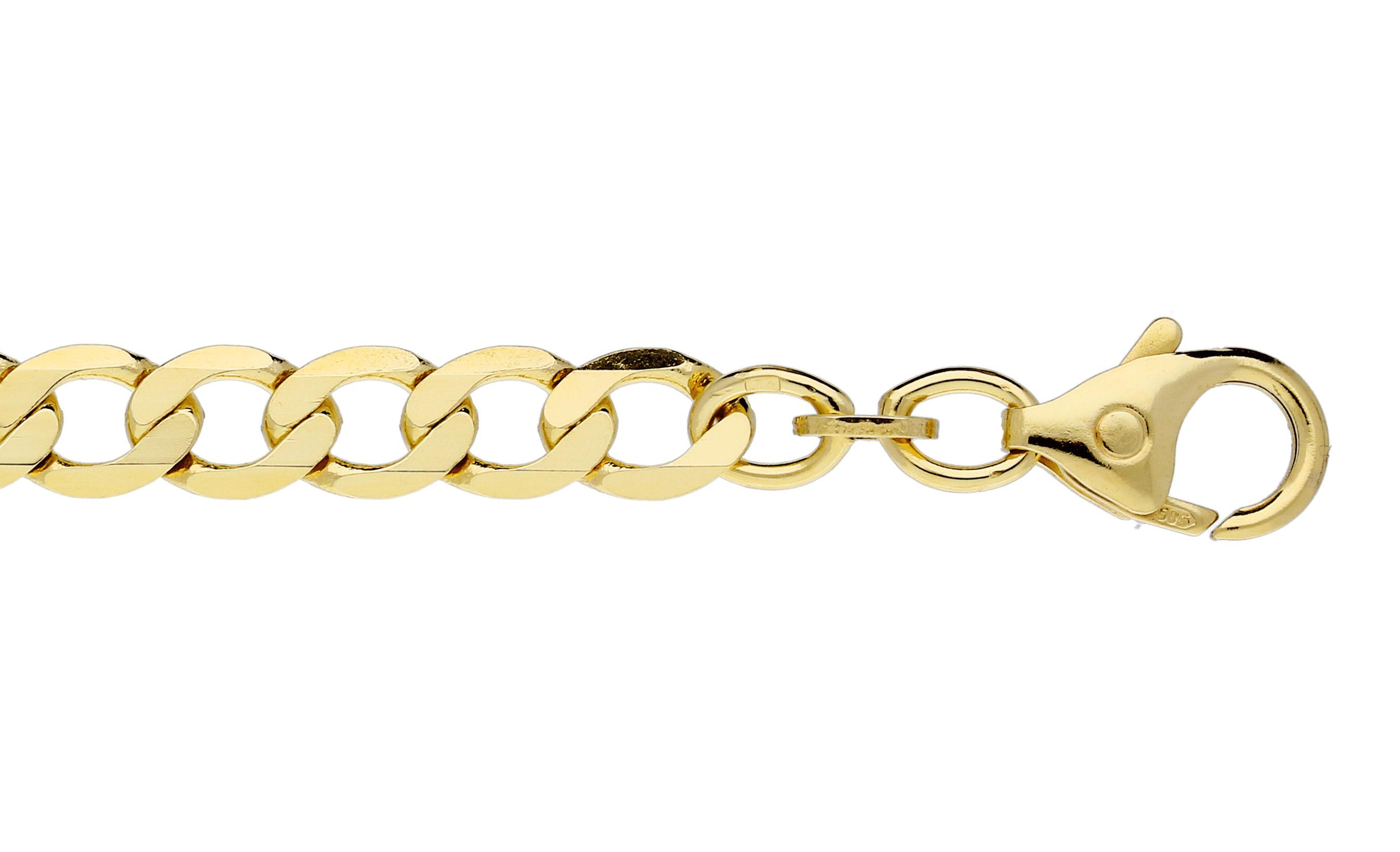 Glow Gouden Schakelarmband 19 cm Open Gourmet 5.7 mm 204.2046.19
