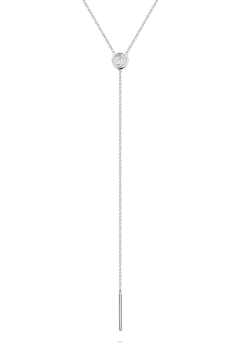 Rebel and Rose RR-NL011-S Y-Ketting Stick to Yourself 45 cm zilver