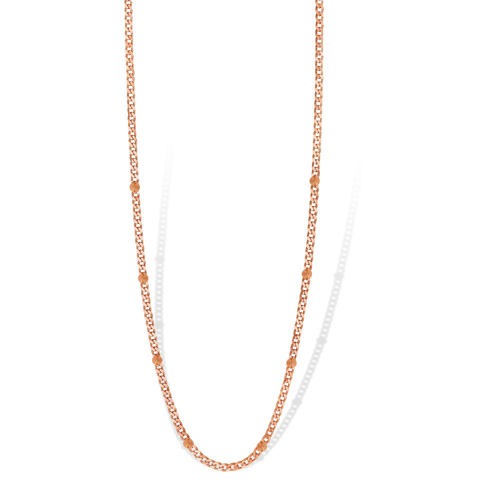 Mi Moneda NEC-03-SPI Necklace Spike Silver Rosegold Plated