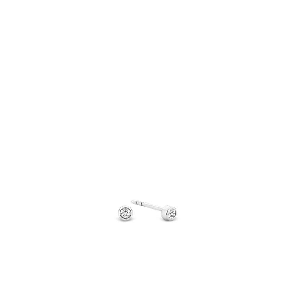 TI SENTO - Milano 7783ZI Oorbellen zilver met zirkonia