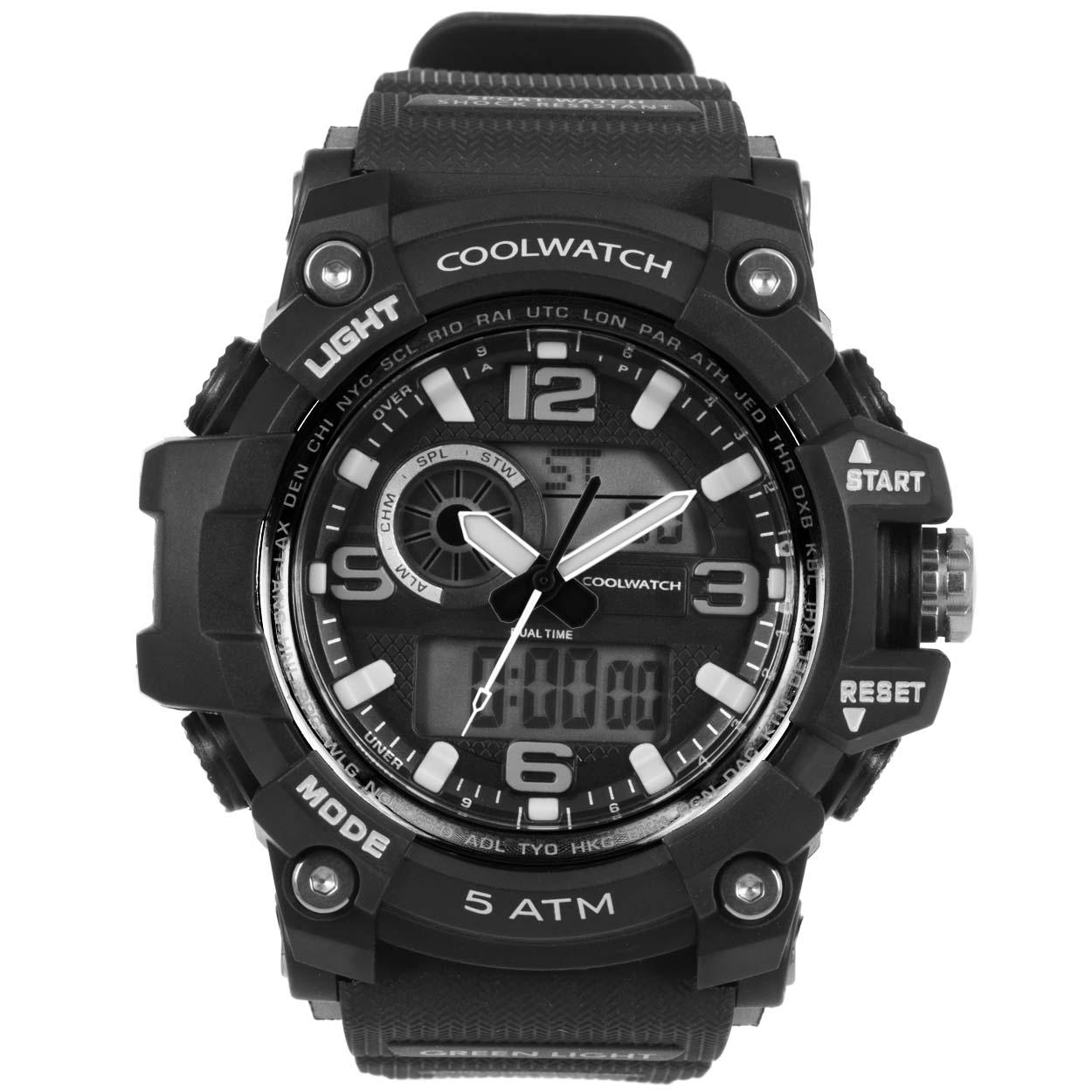 Coolwatch Herenhorloge CW.388 Plastic/silicone Kunststof