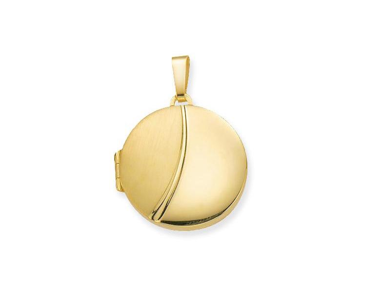 Glow Gouden Medaillon Rond 21.5 mm 245.0033.00