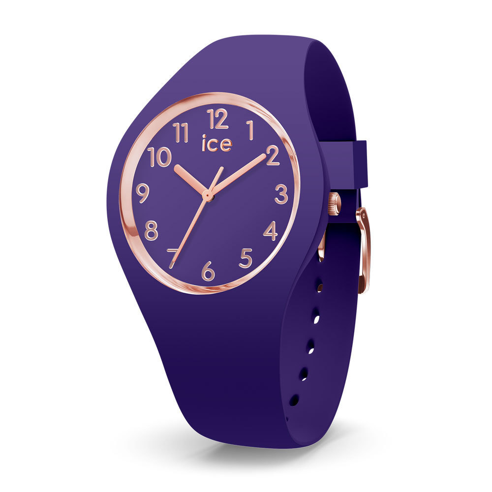Ice-Watch IW015695 Ice Glam Colour Violet Small 34 mm horloge