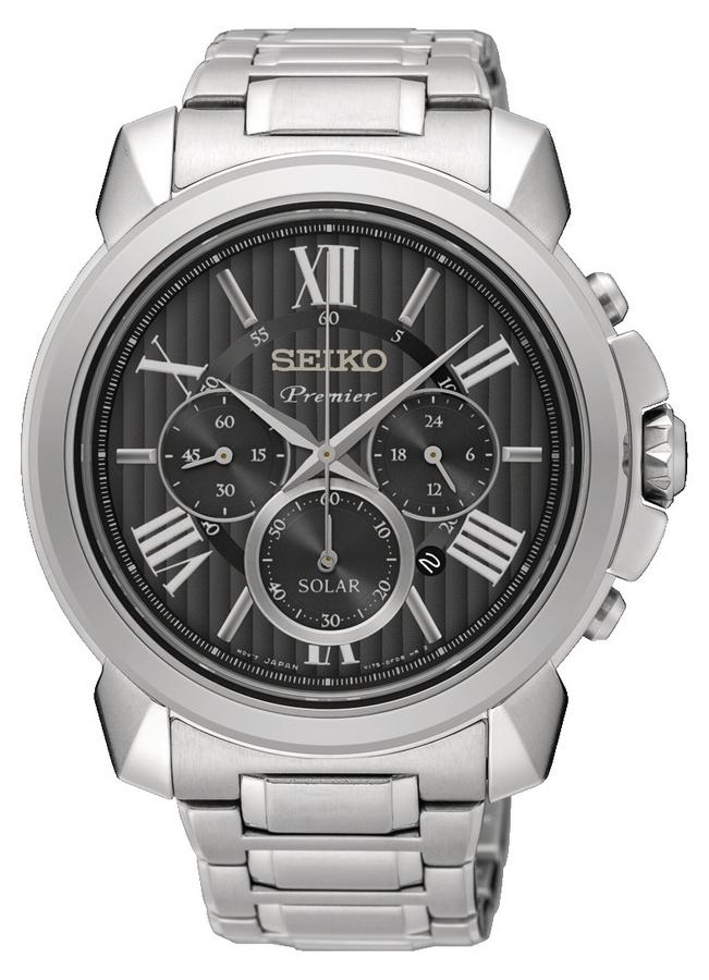 Seiko SSC597P1 Premier Heren horloge