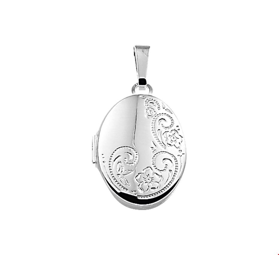 TFT Medaillon Gravure Zilver 21,0 mm x 16,0 mm