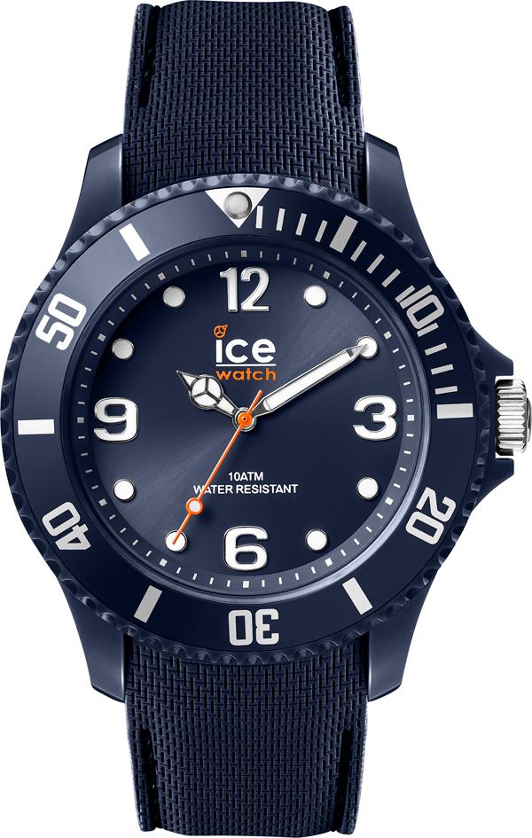 Ice-watch unisexhorloge blauw 43mm IW007278