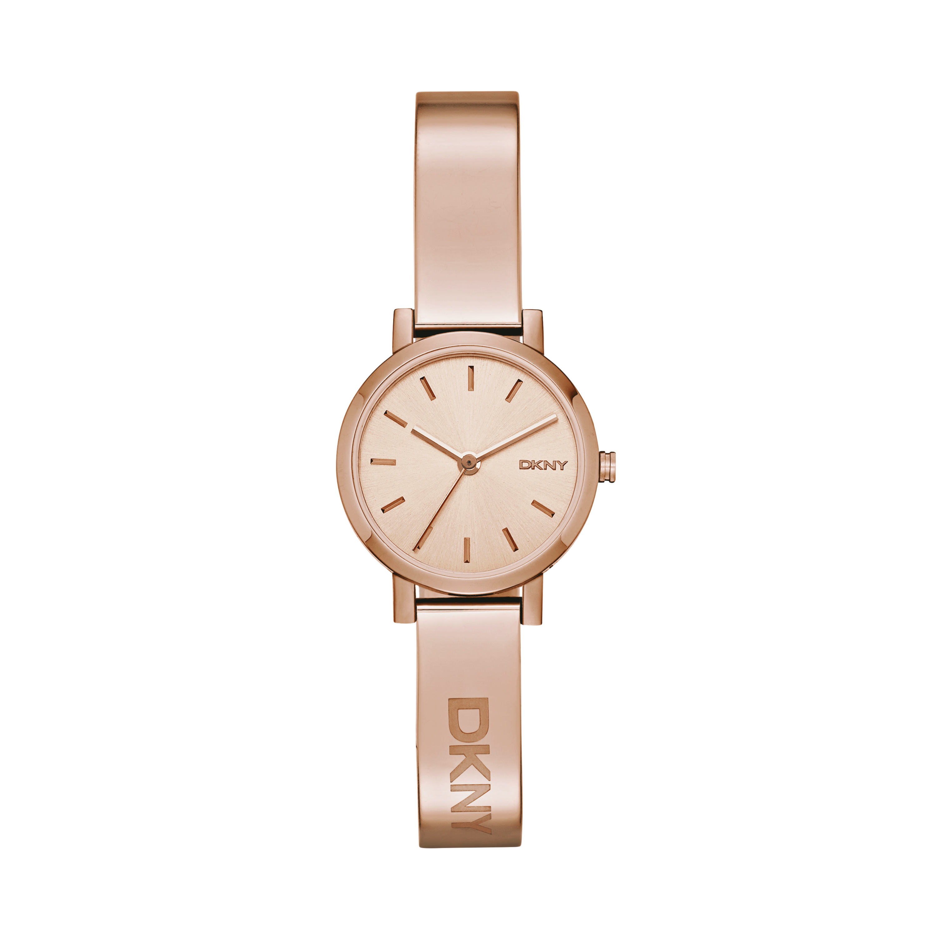 DKNY NY2308 Soho 24 mm rose-goudkleurig Dameshorloge