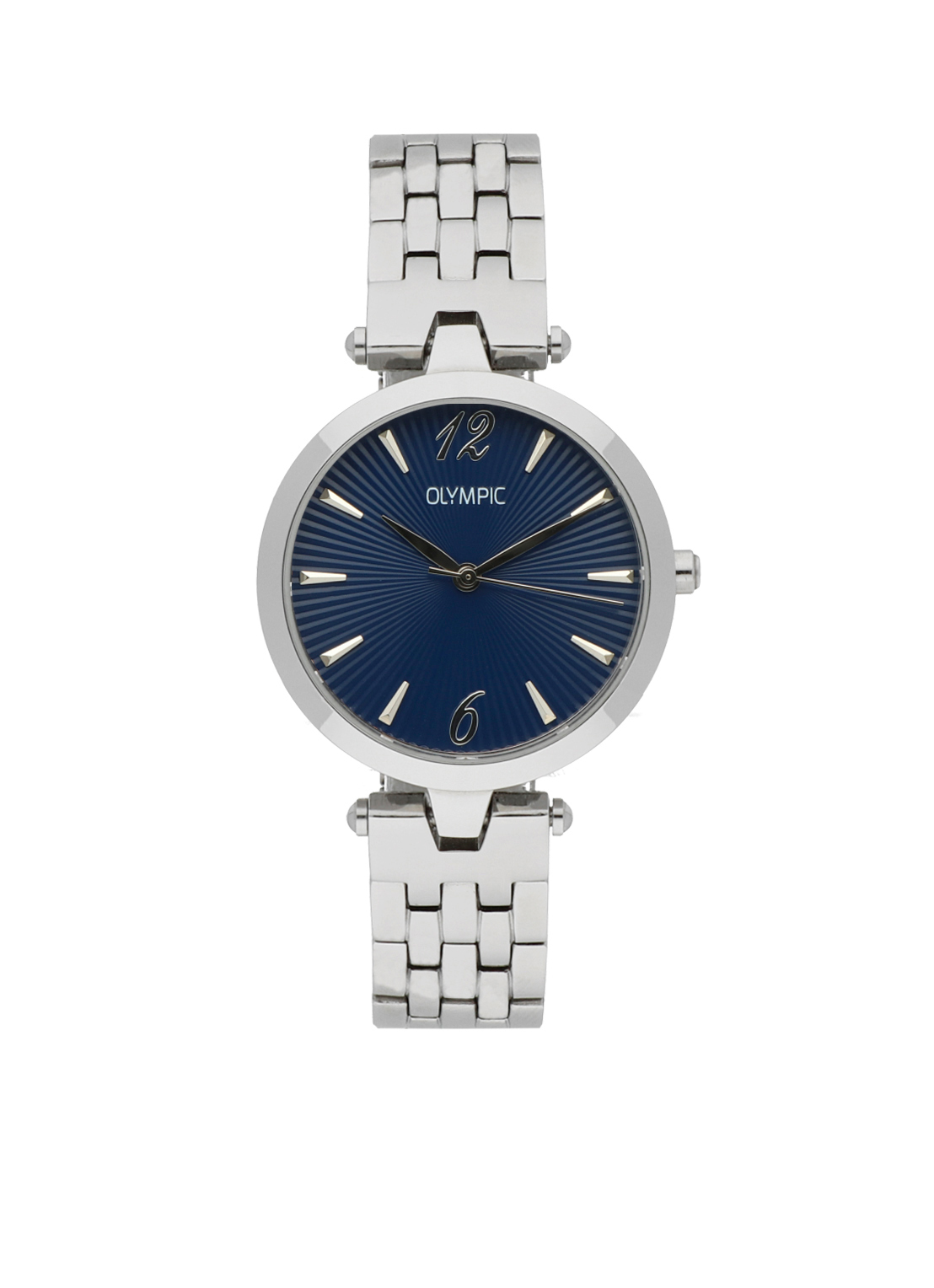 Olympic OL88DSS008 Sorrento Horloge Staal Zilverkleurig 32mm Dames