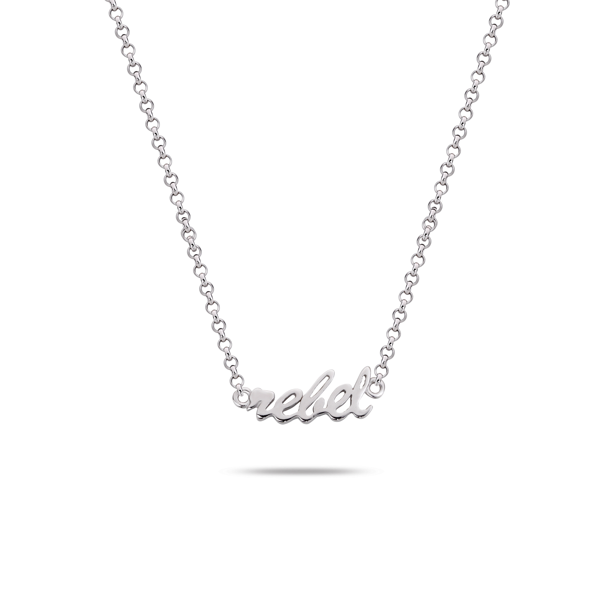 Rebel and Rose RR-NL005-S-49 Collier Necklace Rebel&Rose Silver 925 - 42cm S