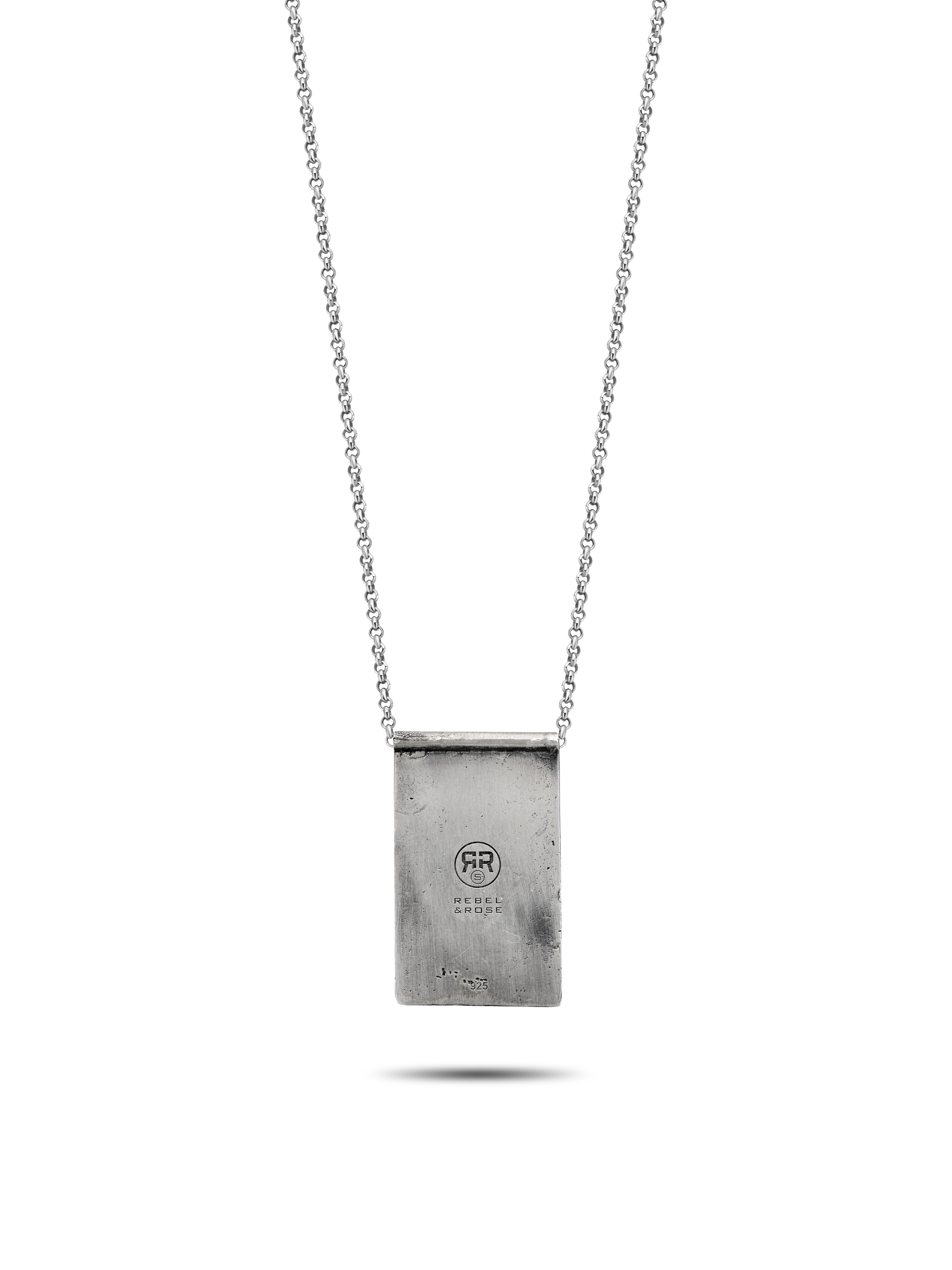 Rebel and Rose RR-NL023-S-70 Ketting Rainy Days (L) 70 cm zilver