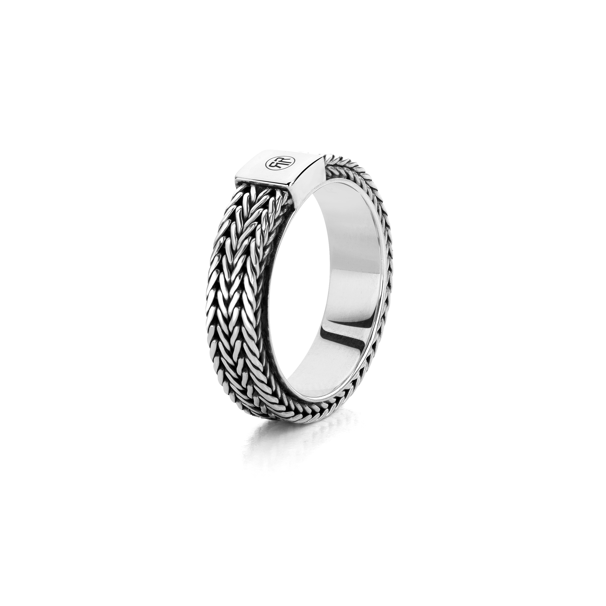 Rebel and Rose RR RG021 S Ring Proteus zilver Maat 60