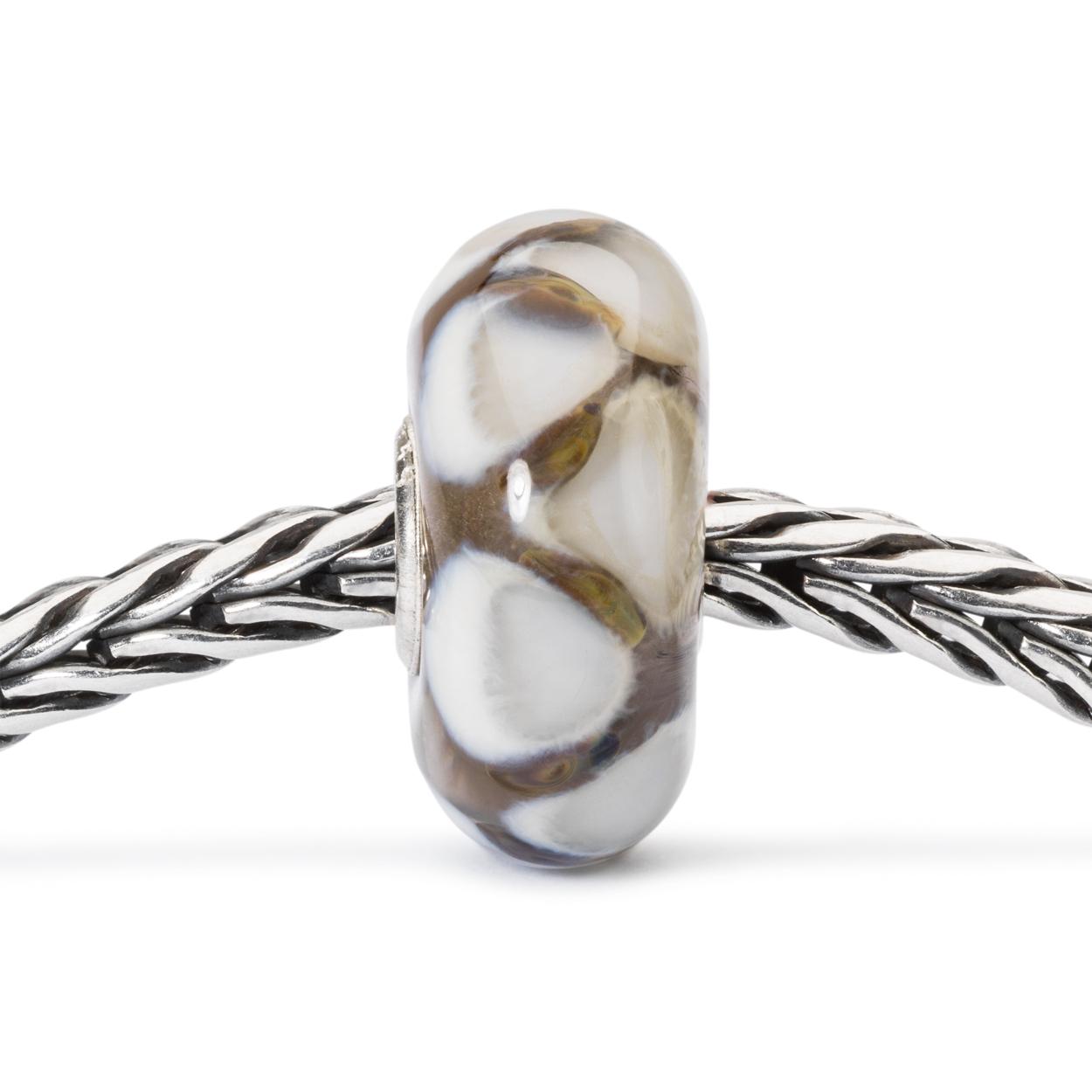 Trollbeads TGLBE-10432 Kraal Bergbeklimming zilver/glas