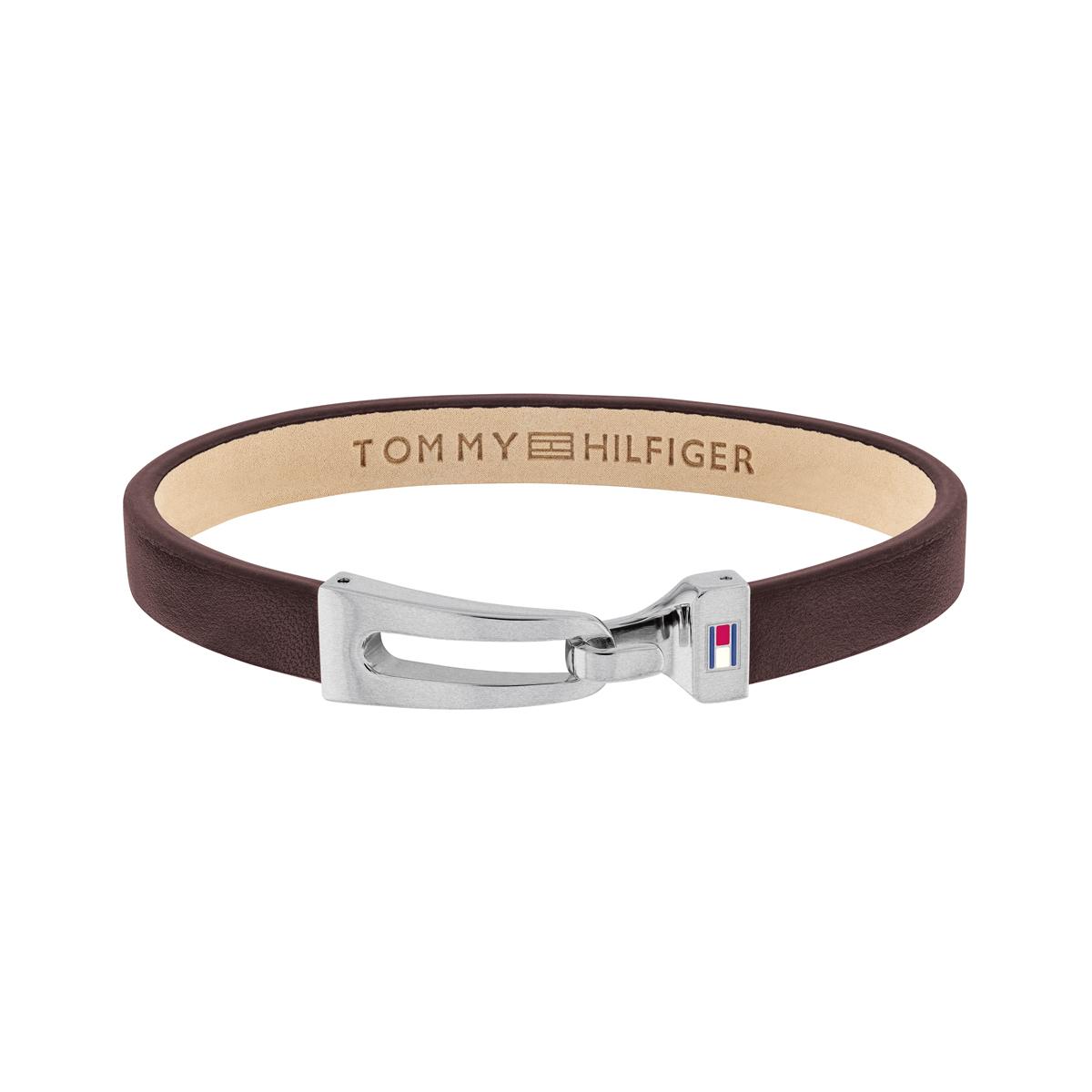 Tommy Hilfiger leren armband TJ2790053 bruin