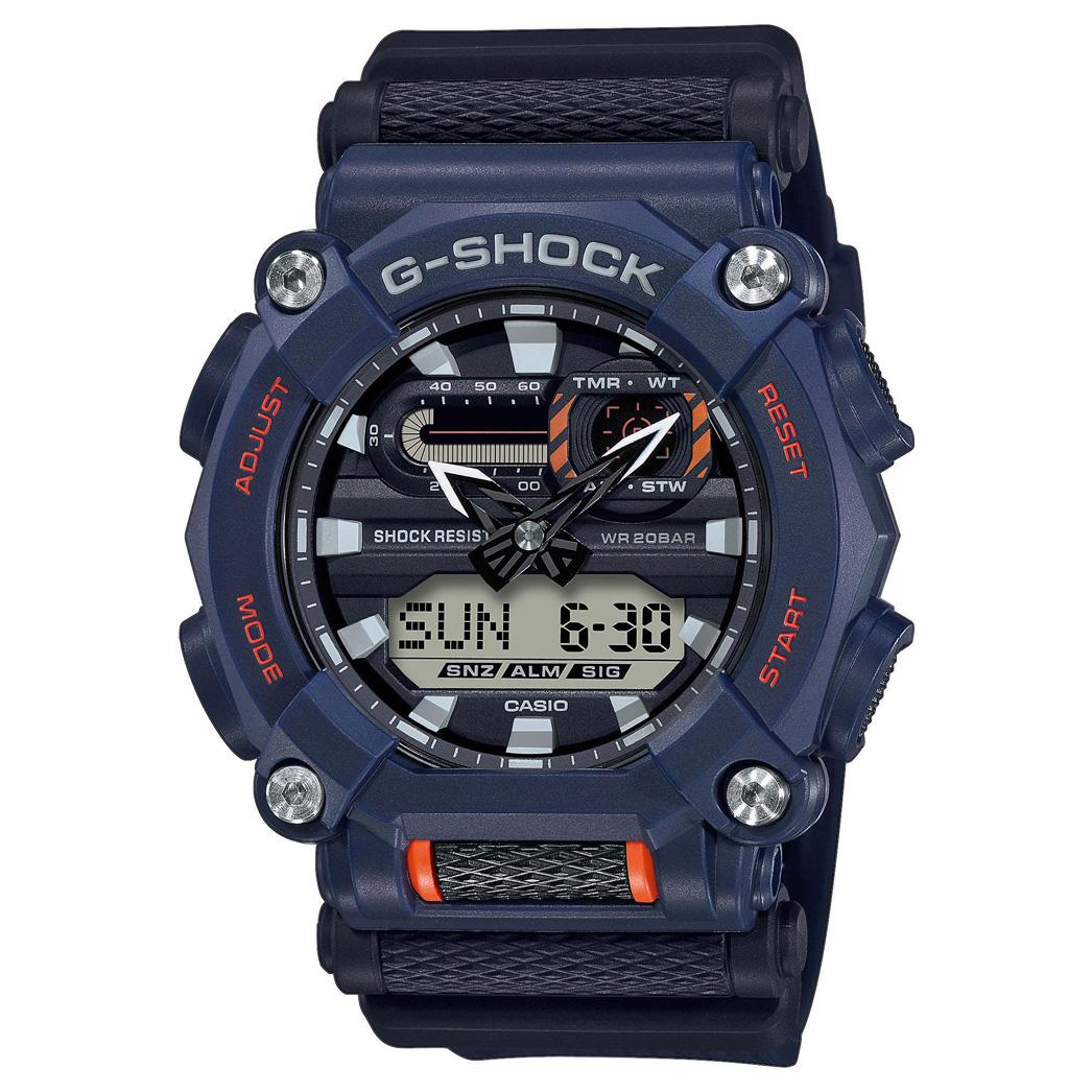 Casio GA 900 2AER G Shock Horloge Heavy Duty 49,5 mm