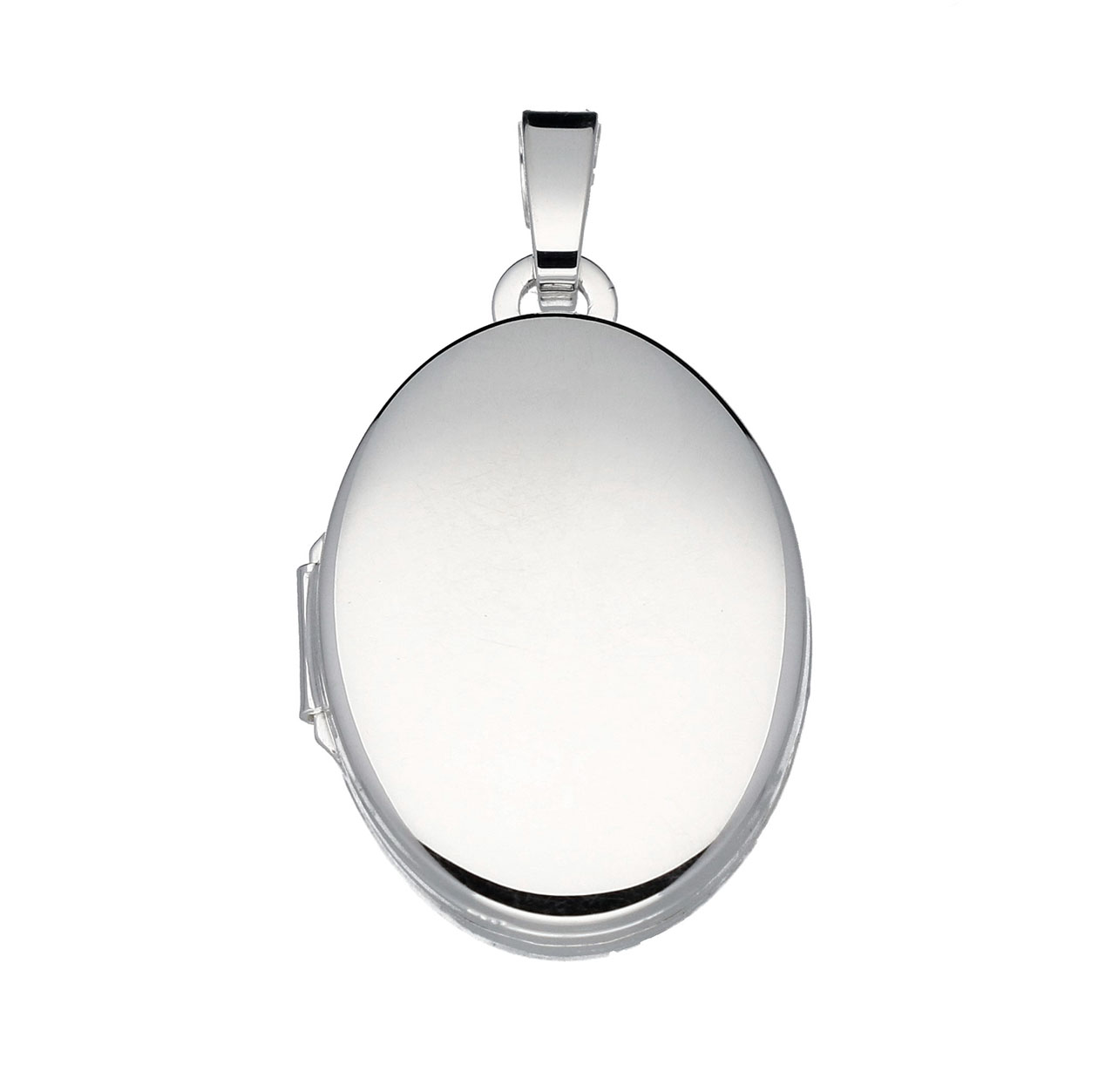 Best Basics 145.0028.00 Zilveren Hanger Medaillon Ovaal