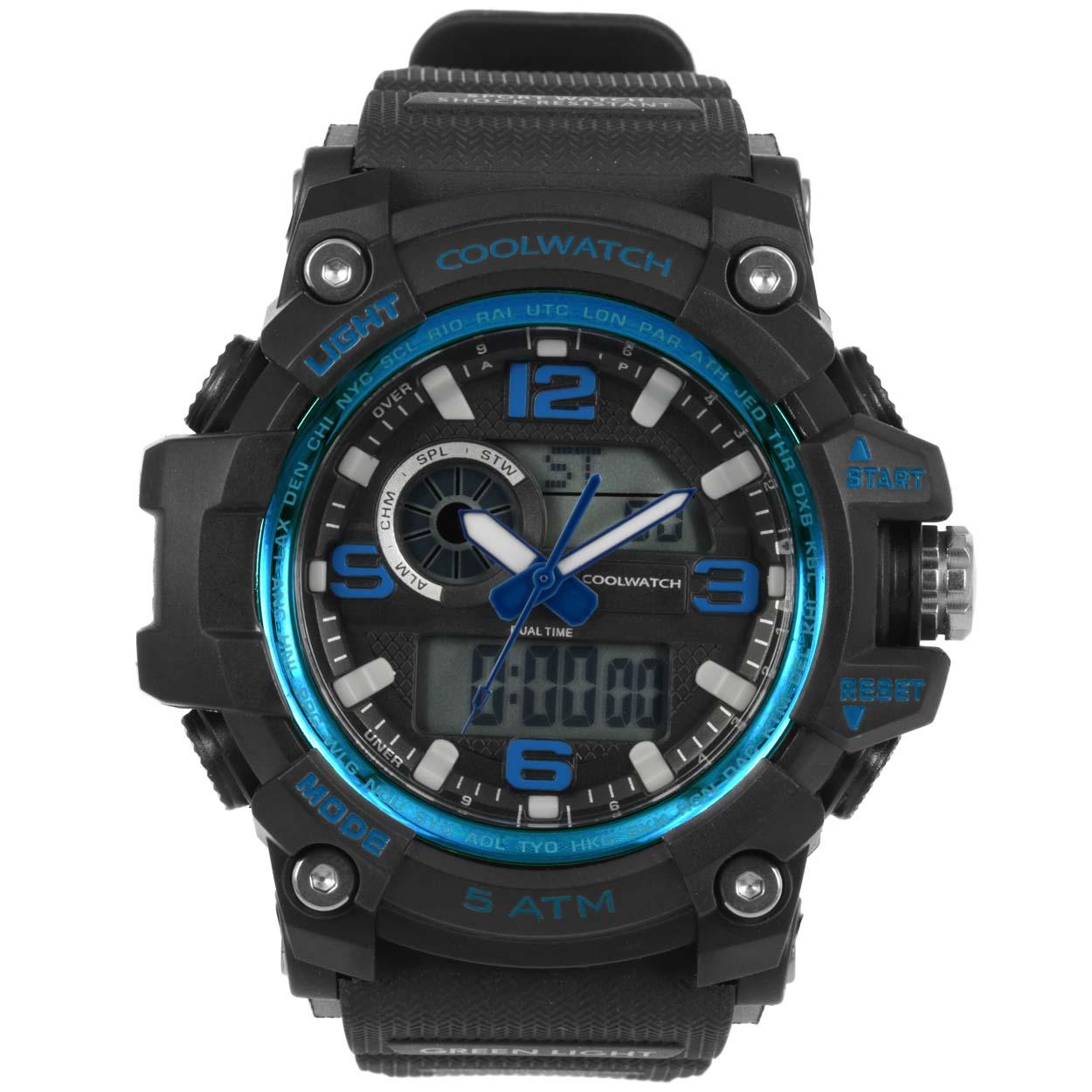 Coolwatch Herenhorloge CW.389 Plastic/silicone Kunststof