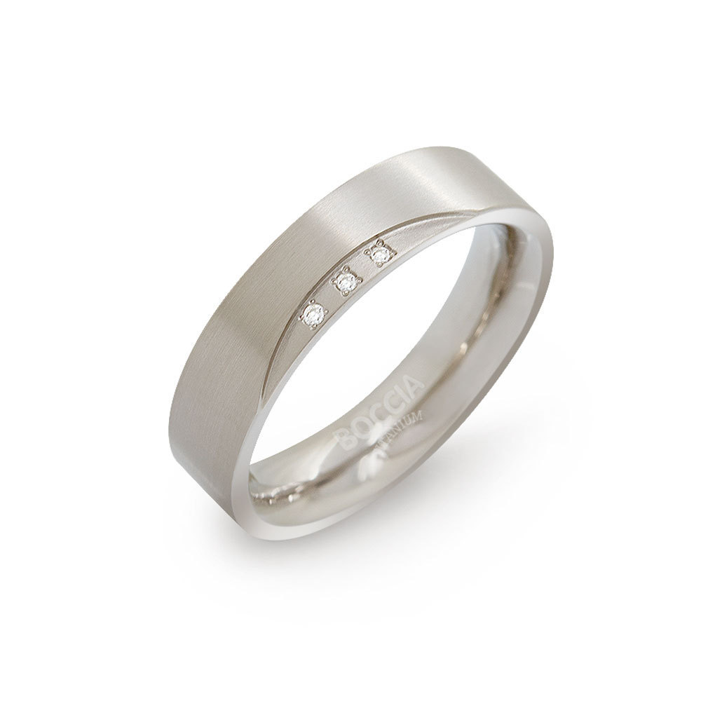 Boccia Titanium 0138 02 ring Maat 57 is 18mm