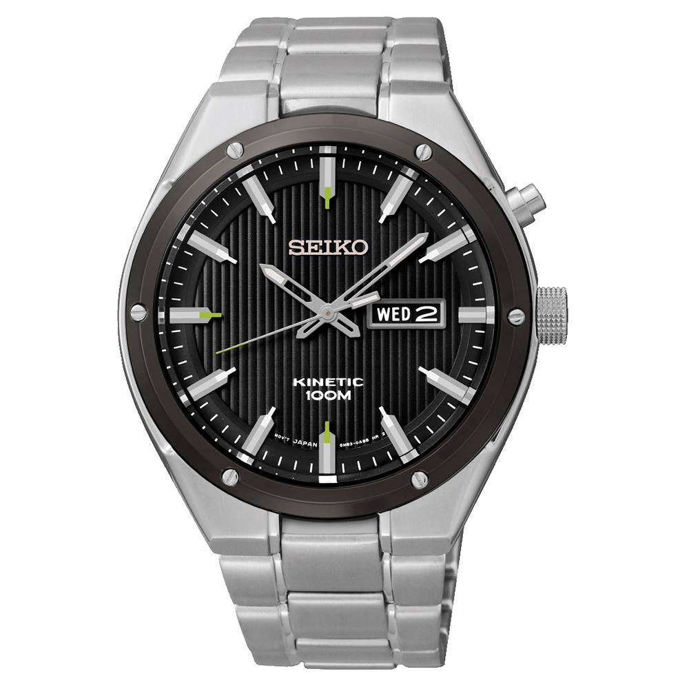 Seiko Herenhorloge Kinetic SMY151P1