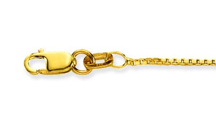 Glow Gouden Lengtecollier Venetiaans 0.9 Mm 201.1138.29