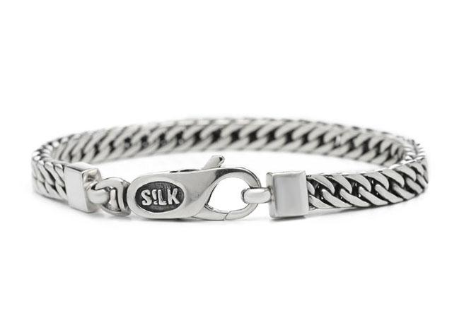Silk Jewellery Armband zilver 'Shiva' 21 cm 335-21