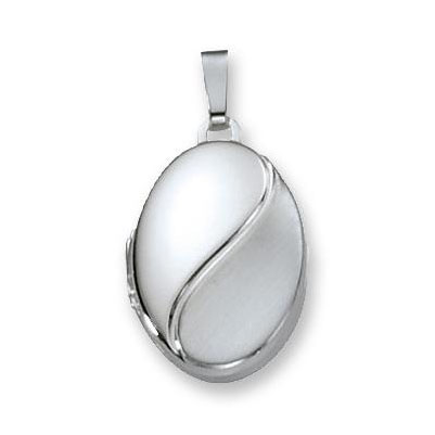 Best Basics 145.0027.00 Zilveren Hanger Medaillon Ovaal