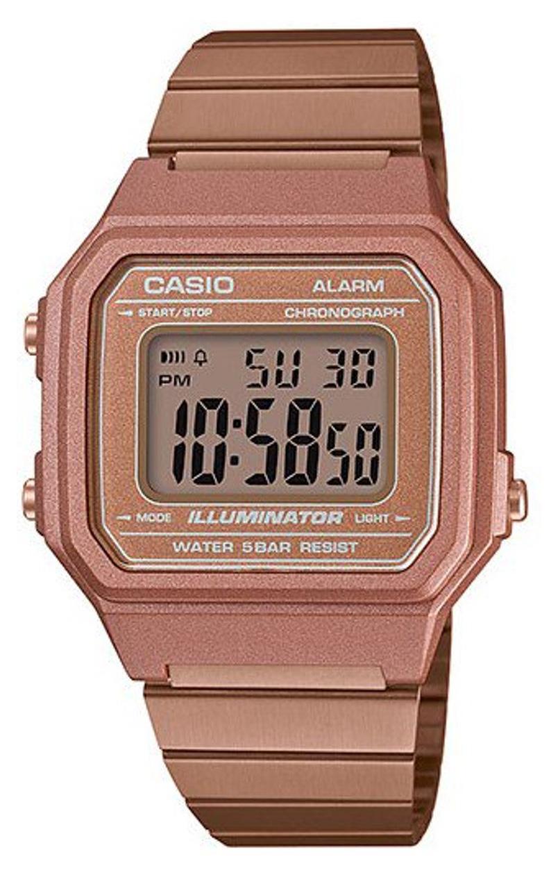 Casio B650WC 5AEF goudkleurig Retro horloge