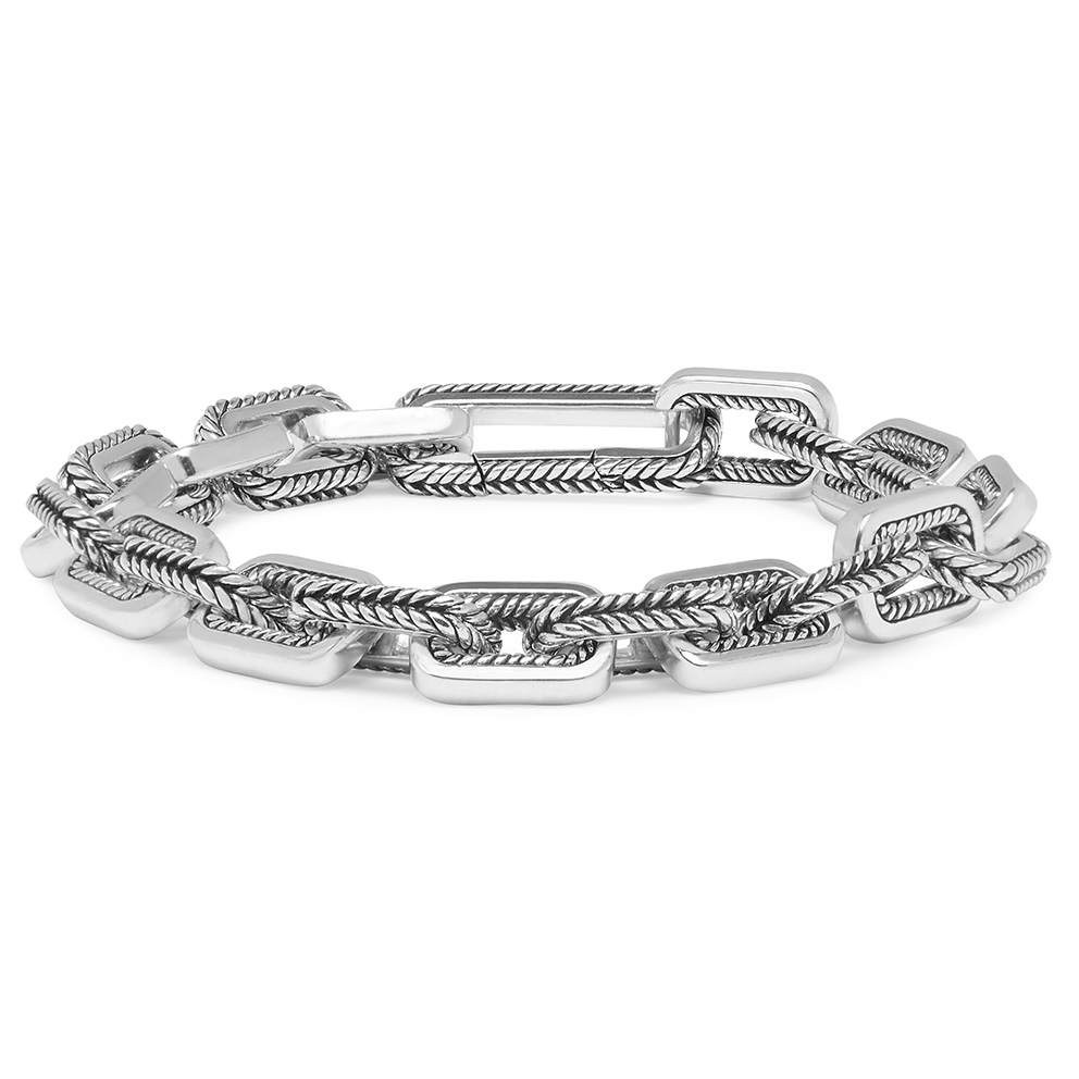 Buddha to Buddha 117 Armband Barbara Link Small zilver (E) 19 cm