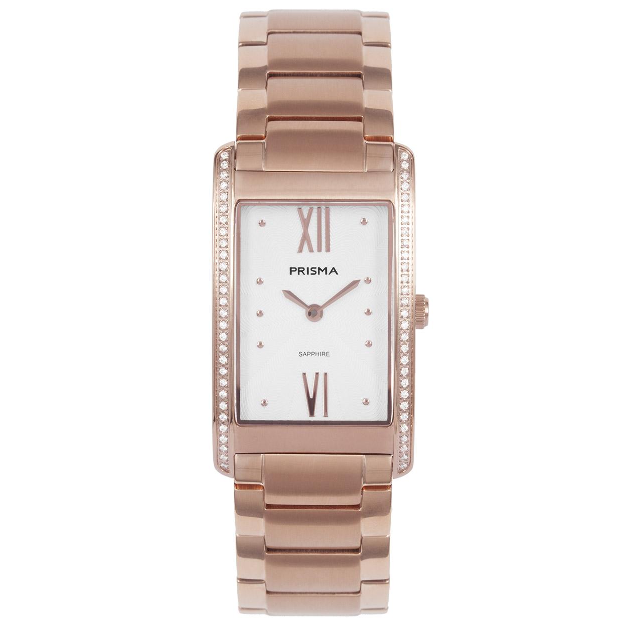 Prisma Dames Precise Zirconia Horloge P.1958