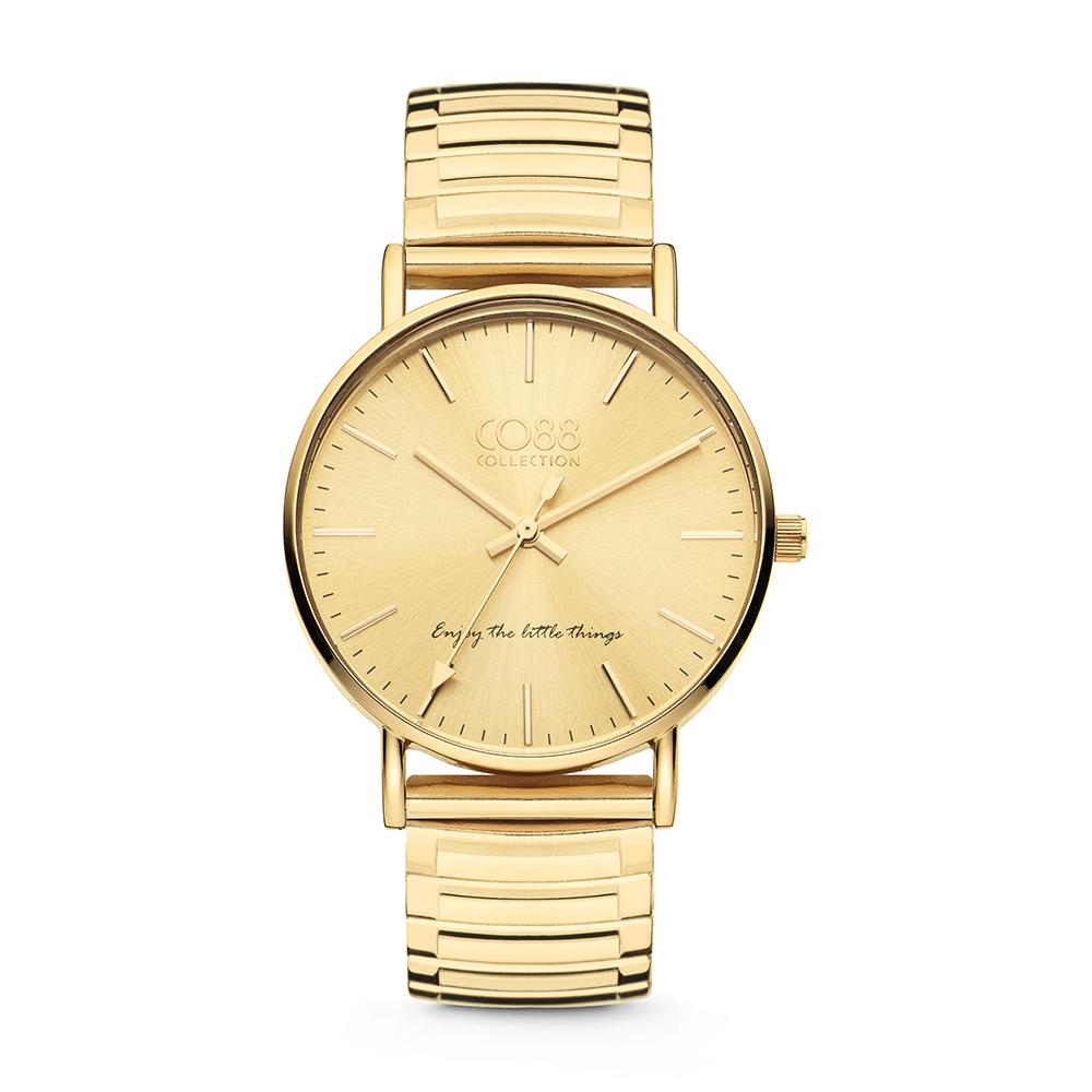 CO88 Collection 8CW 10058 Horloge Horloge mesh band goudkleurig ø 36 mm