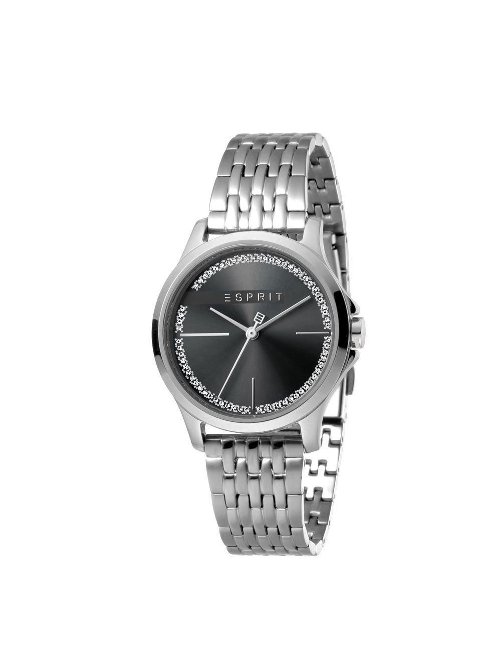 Esprit ES1L028M0065 Joy Black Silverplated MB. horloge