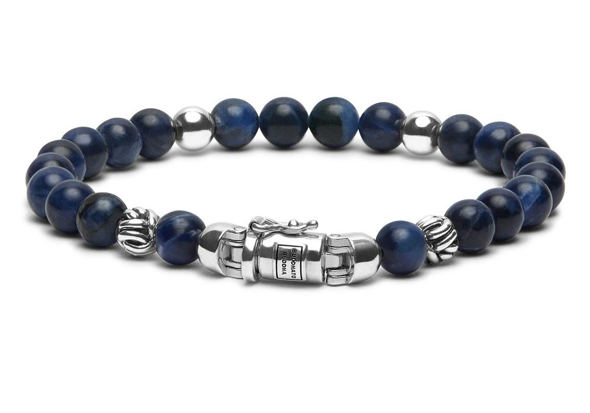 Buddha to Buddha 189SO Armband Spirit Bead Mini Blue Sodalite (D) 18 cm