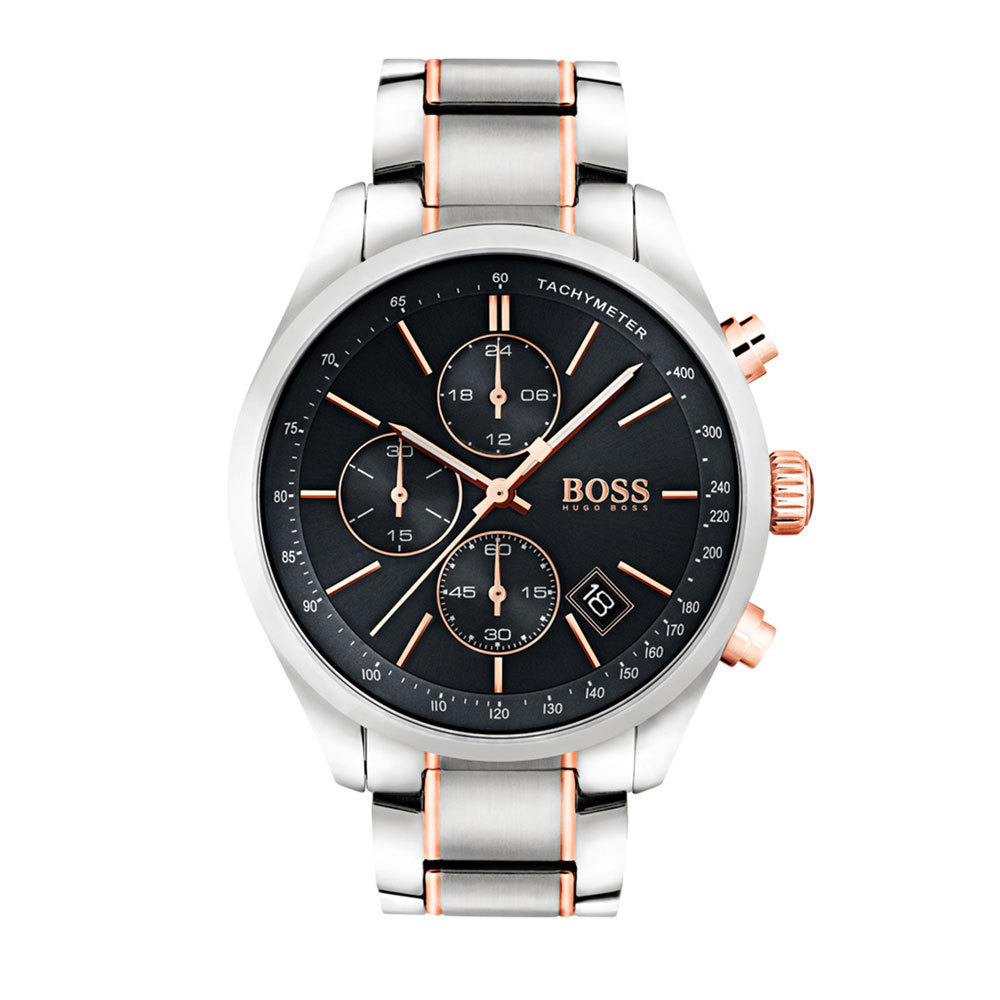 Hugo Boss HB1513473 Grand Prix Herenhorloge chrono 44 mm