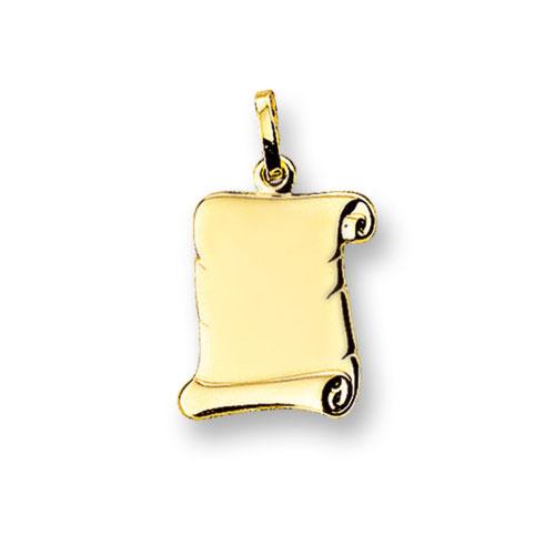 Huiscollectie 4006630 Gouden graveerplaat perkament rol