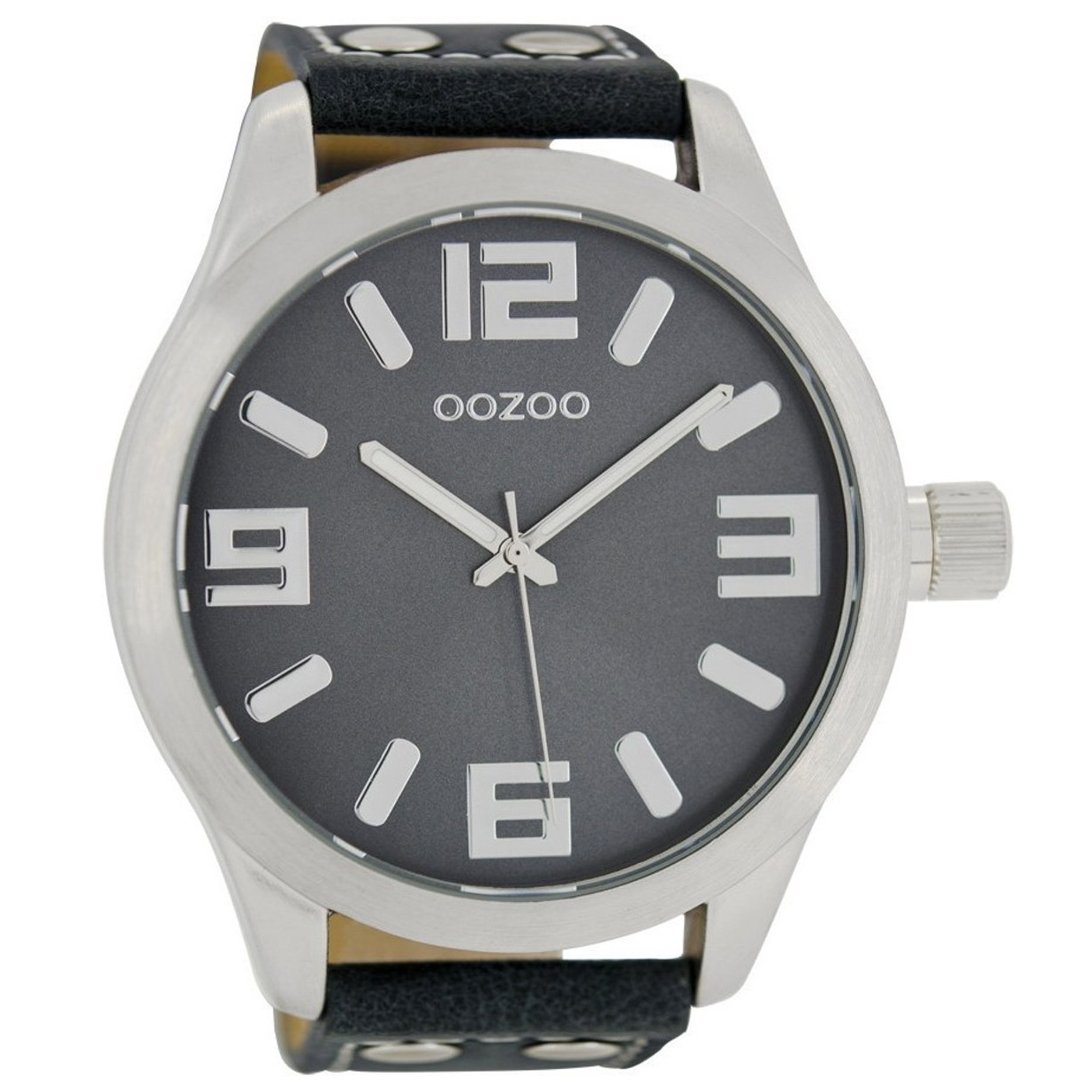 OOZOO C1012 Horloge Timepieces Collection donkerblauw 51 mm