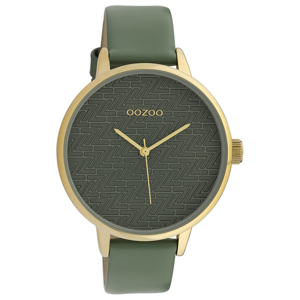 OOZOO C10248 Horloge Timepieces aquamarine 42 mm