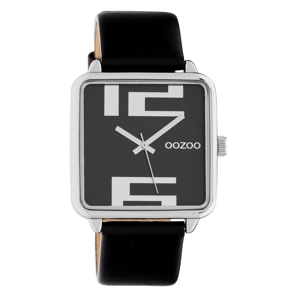 OOZOO C10364 Horloge Timepiece Collection Black 35 x 35 mm