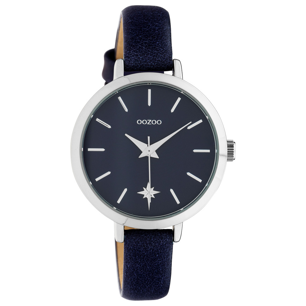 OOZOO C10388 Horloge Timepiece Collection Evening Blue 38 mm