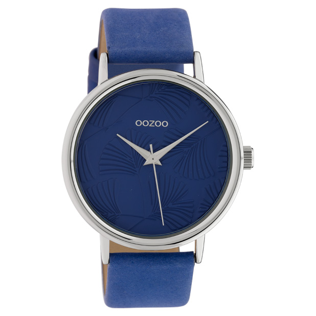 OOZOO C10394 Horloge Timepieces Collection blauw 42 mm