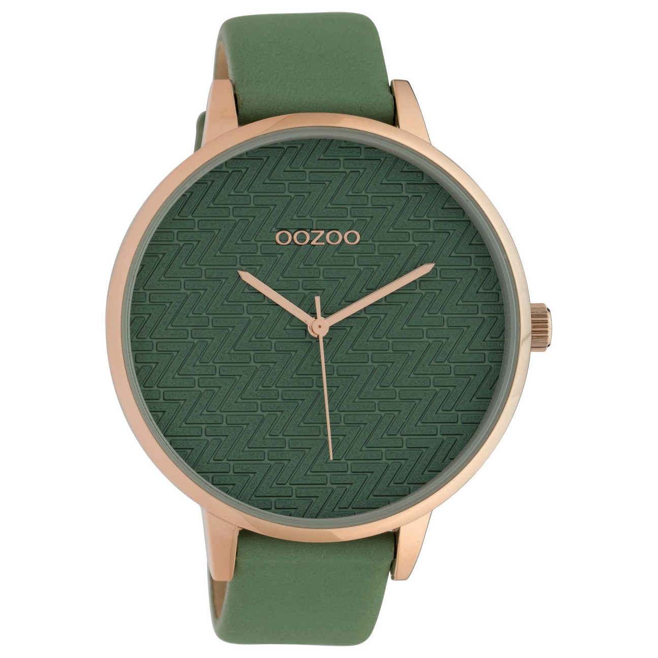 OOZOO C10407 Horloge Timepiece Collection Lilypad 48 mm