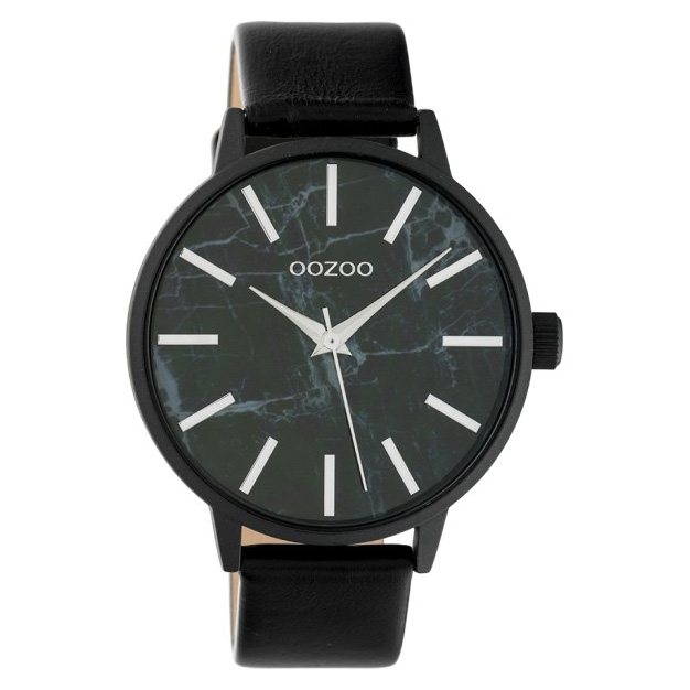 OOZOO C10469 Horloge Timepieces Collection Black-Marble 42 mm