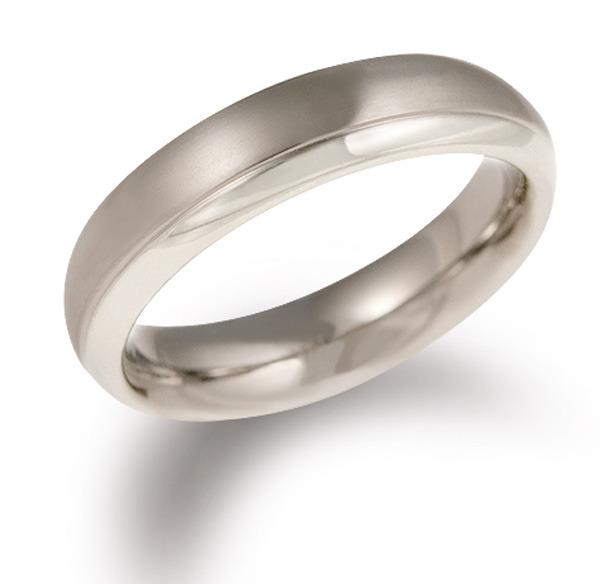 Boccia 0130-07 Ring Titanium Maat 59